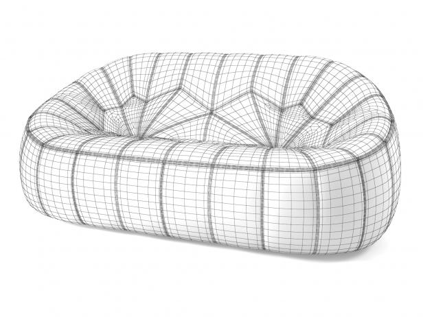 Ottoman 2-Seater Sofa 9