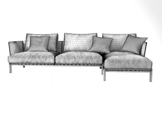 Chelsea CHC04 Corner Sofa Composition 4
