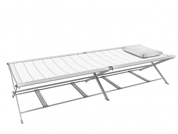 Folding Camp Bed 6