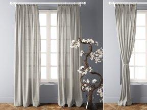 Modern Linen Curtains