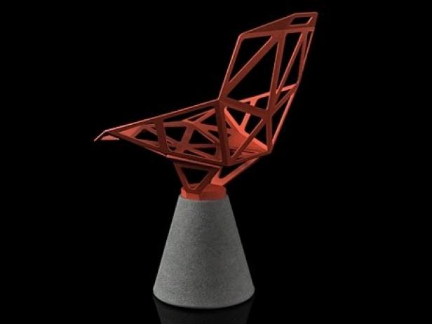 Chair One Concrete Base 4