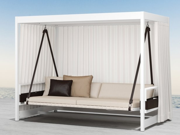 Garden Furniture 3d Model city camp garden swing 3d model | dedon