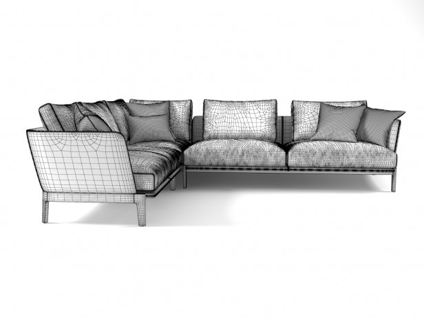 Chelsea CHC08 Corner Sofa Composition 6