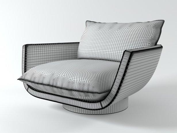 Avenue road rua ipanema armchair 3d model - Total 3d home design free download ...