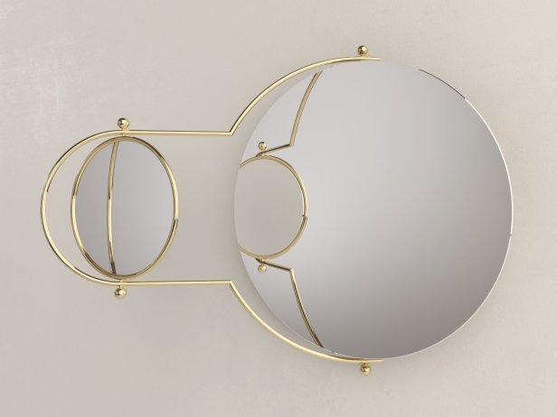 Orbit Wall Mirror 3