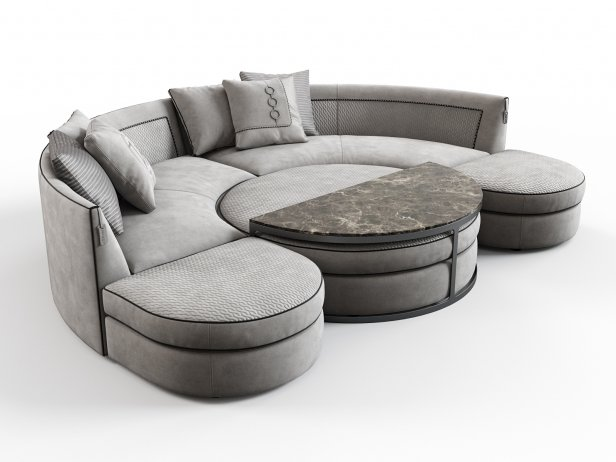 Borromeo Modular Sofa 4