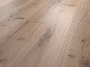 Fumed Distress Solid Oak Flooring