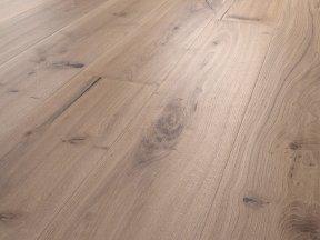 Fumed Distress Solid Oak Flooring
