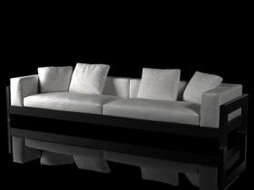 Alison Black sofa 320