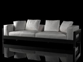Alison Black sofa 280