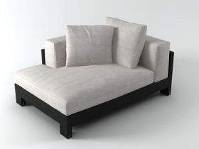 Alison Black sofa 140