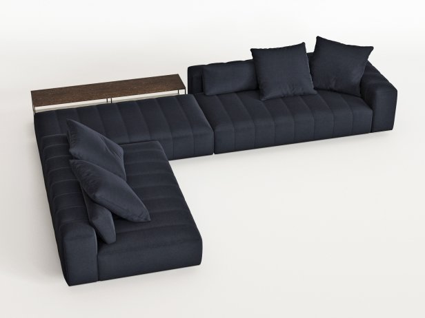 Freeman Corner Sofa System H 4