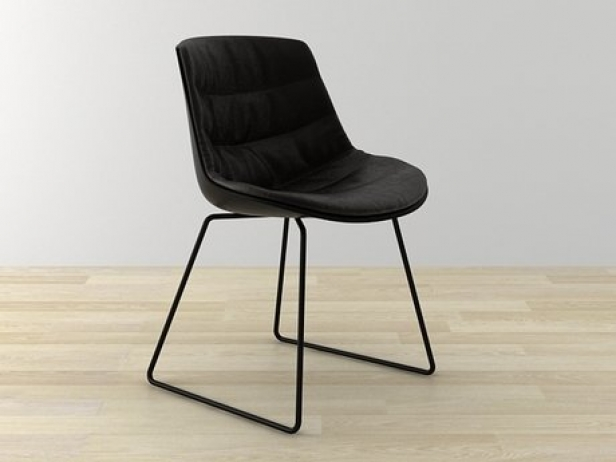 Flow chair sled base 3
