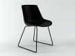Flow chair sled base 11