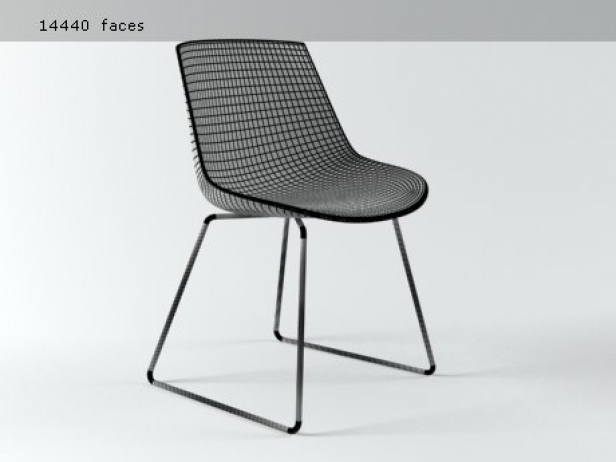Flow chair sled base 14
