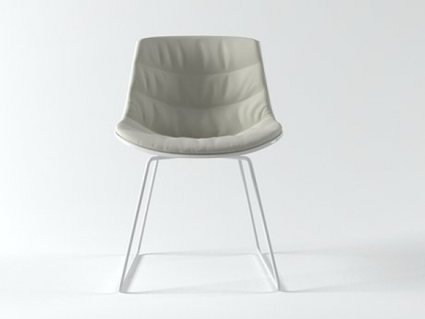 Flow chair sled base 4