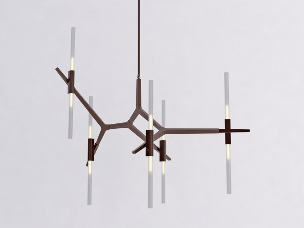 Agnes 10 Lights Chandelier 2