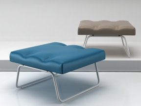 Hirche Outdoor Footstool