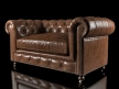 "60"" Kensington Leather Sofa 11"