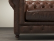 "60"" Kensington Leather Sofa 8"
