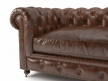 "60"" Kensington Leather Sofa 5"