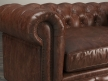 "60"" Kensington Leather Sofa 7"