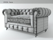 "60"" Kensington Leather Sofa 12"