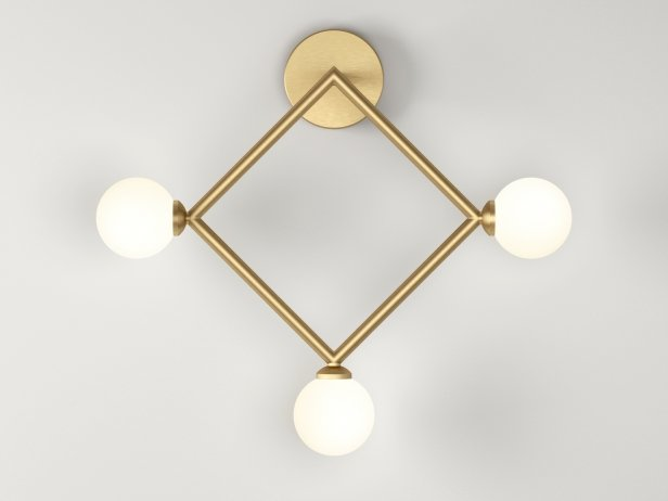Square Wall Lamps 1