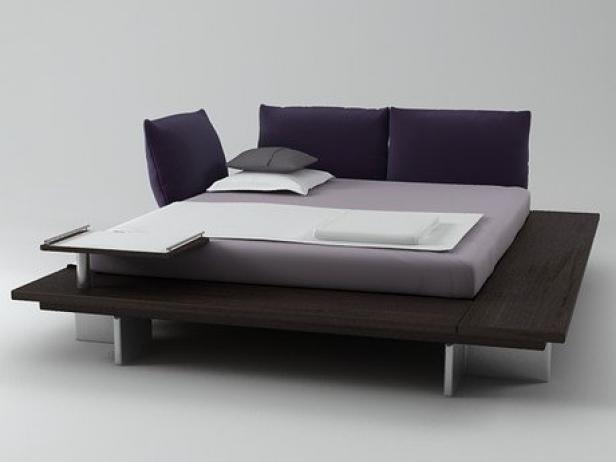 Maly Bed 3d Model Ligne Roset - Maly-platform-bed-by-ligne-roset