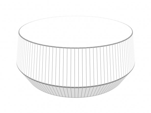 Udan Round Coffee Table 5