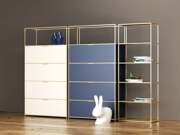 Dita High Unit and Shelving 1