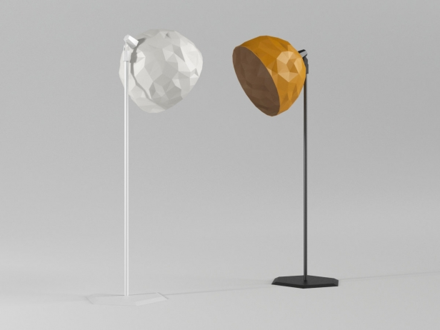 Rock Standing Lamp 5