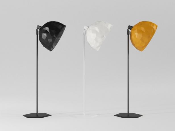 Rock Standing Lamp 6