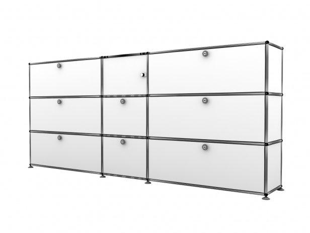 Filum USM Pendant Light and Illuminated Cabinet 5