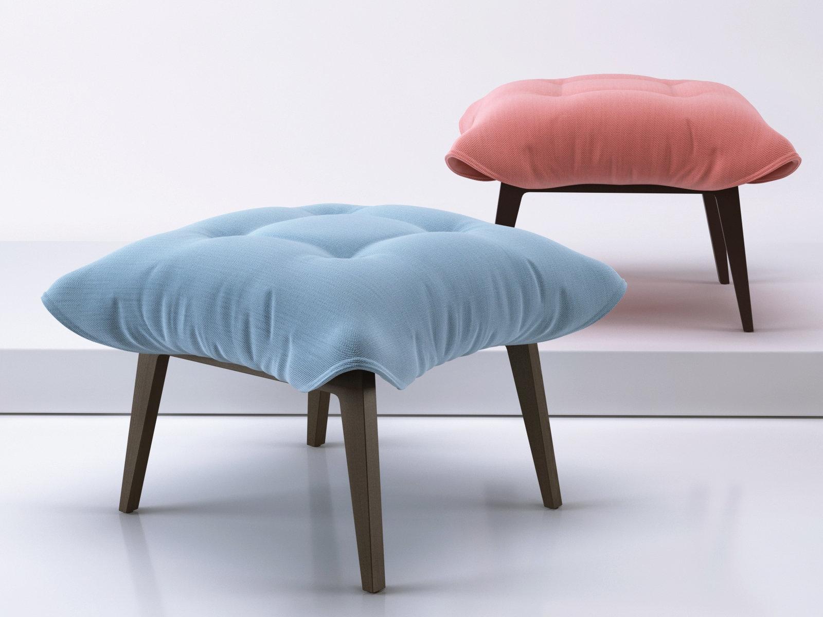 toa ottoman 3d model ligne roset. Black Bedroom Furniture Sets. Home Design Ideas