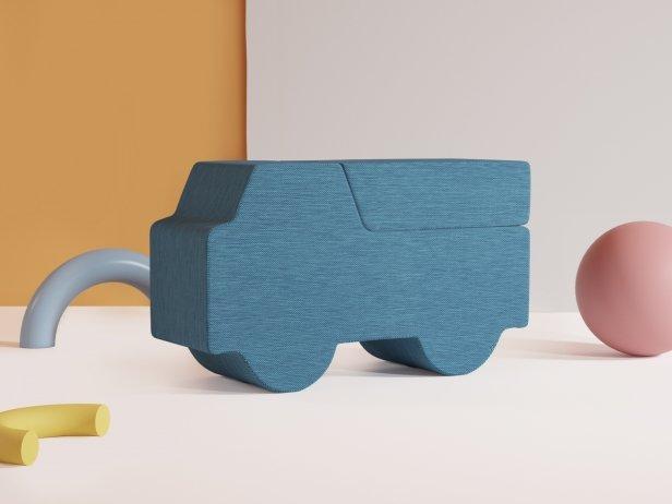 Softruck Footstool 2