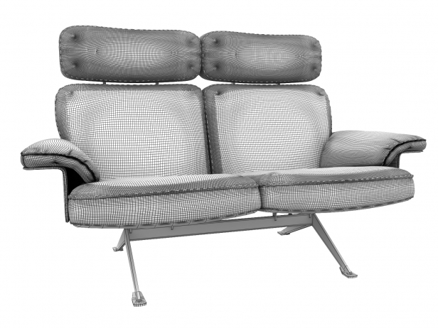 DS-31/112 2-Seater Sofa High Back 3