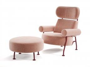 Astair Armchair & Footstool