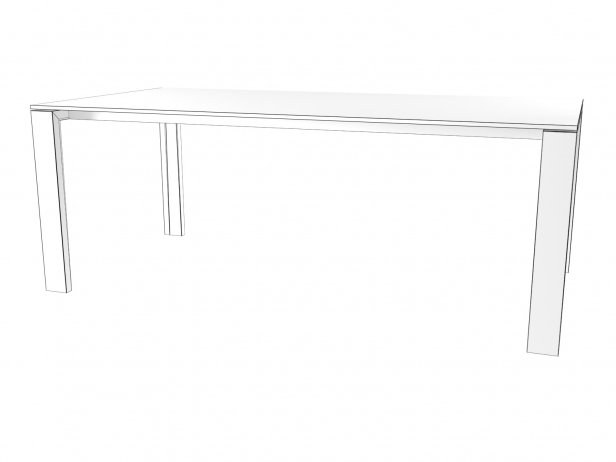 Naia Extendable Dining Table 6