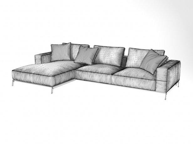Ettore Corner Sofa 5