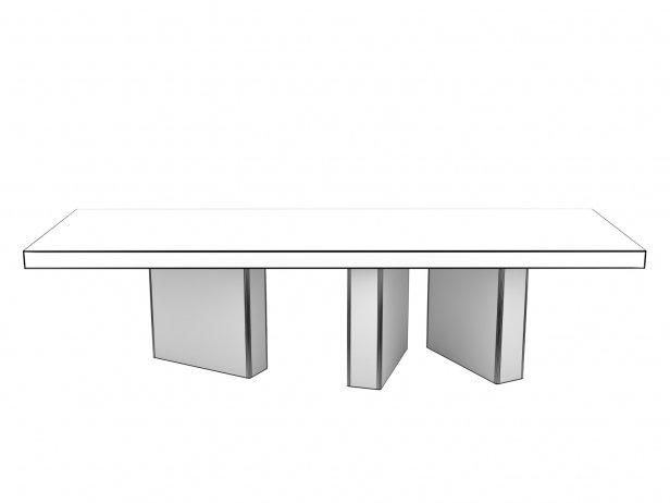 Table Bicolore 319 3