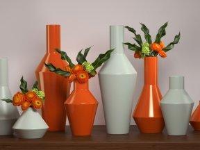 Shaker Vases Set