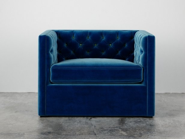 Mercer Tufted Club Chair 3