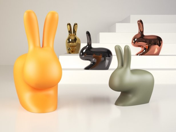 Rabbit Chair & Baby Chair 1