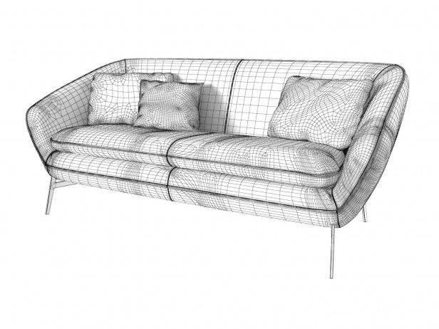 Flow Sofa 192 3