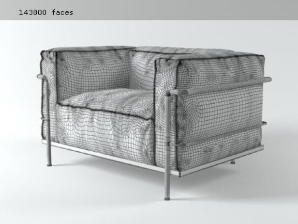 LC3 Armchair 7