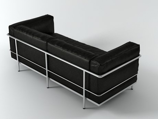 LC3 2-Seater 3d model | Cassina