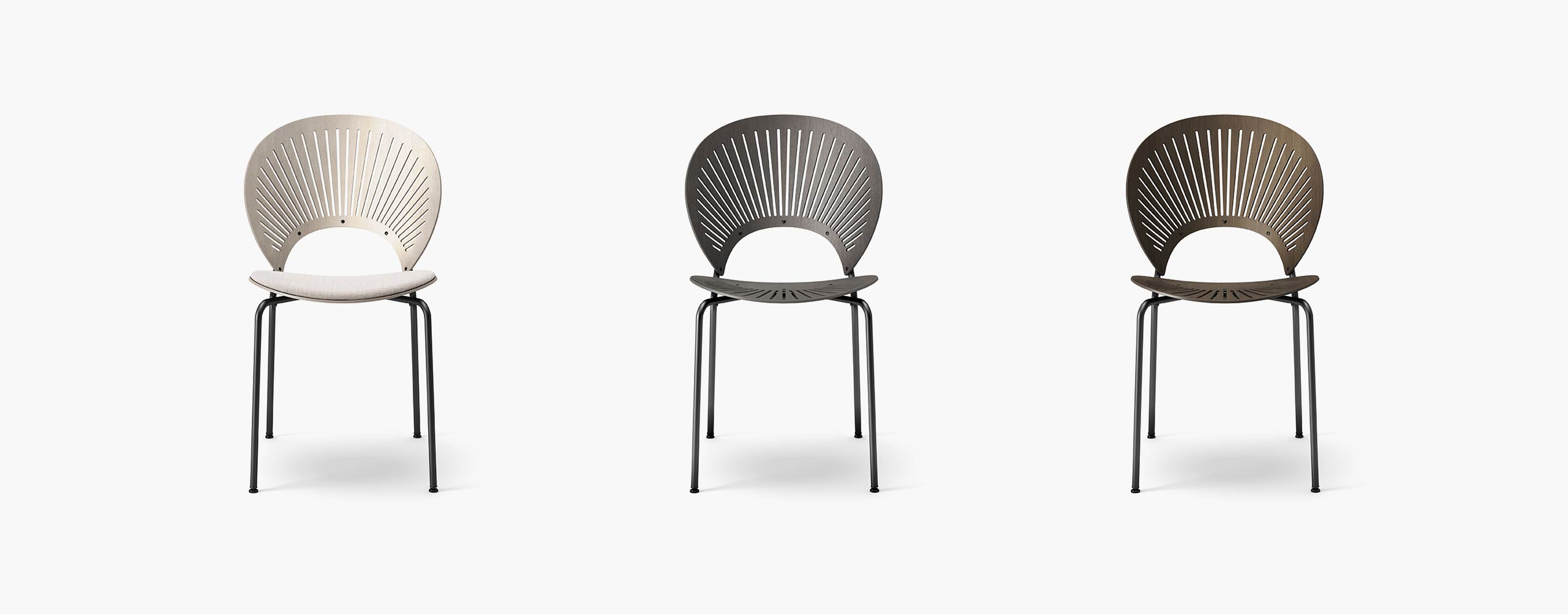 Fredericia's Trinidad chair - all variations - CGI & 3d model by Design Connected
