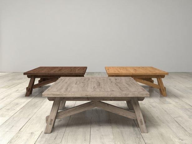 Benson Sawhorse Coffee Table 3