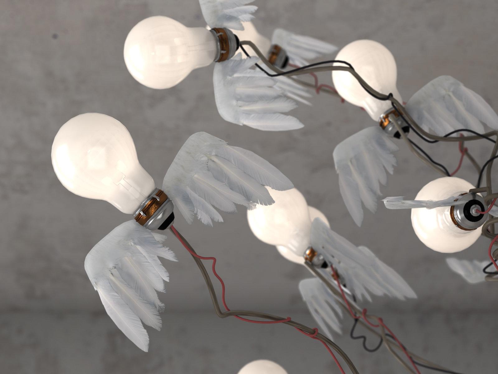 birds birds birds 3d model ingo maurer. Black Bedroom Furniture Sets. Home Design Ideas